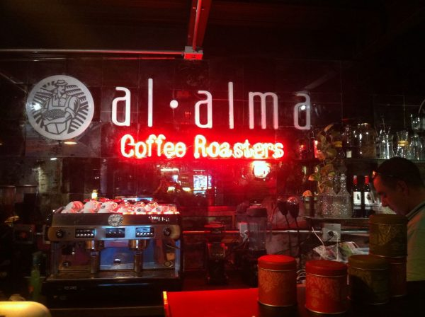 Aviso luminoso – Al Alma Coffee Roasters